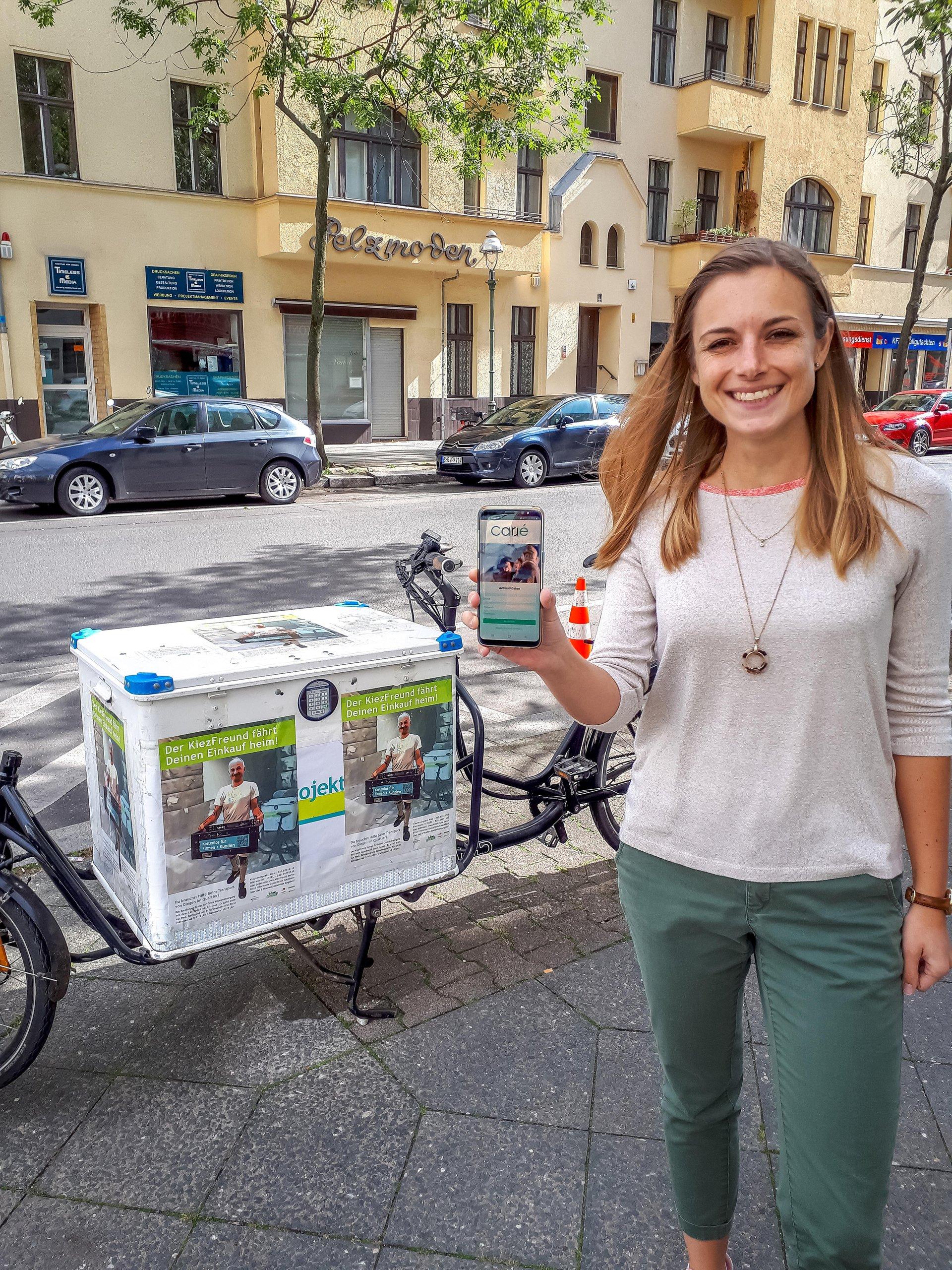 Carré Moblity-Gründerin Franziska Weise