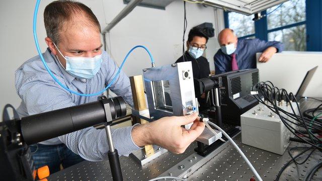 Das Labor von Nanoscale.