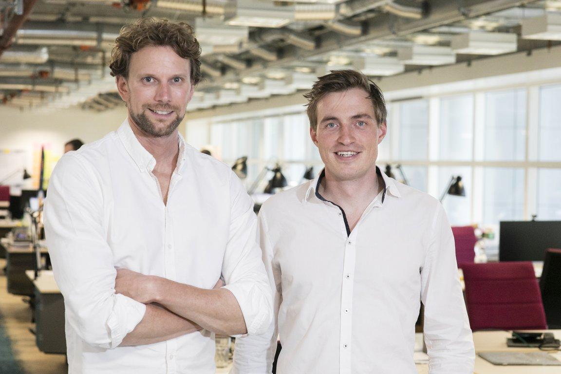 Matthias Karger (l.) und Lars Rinn, Gründer von node.energy.
